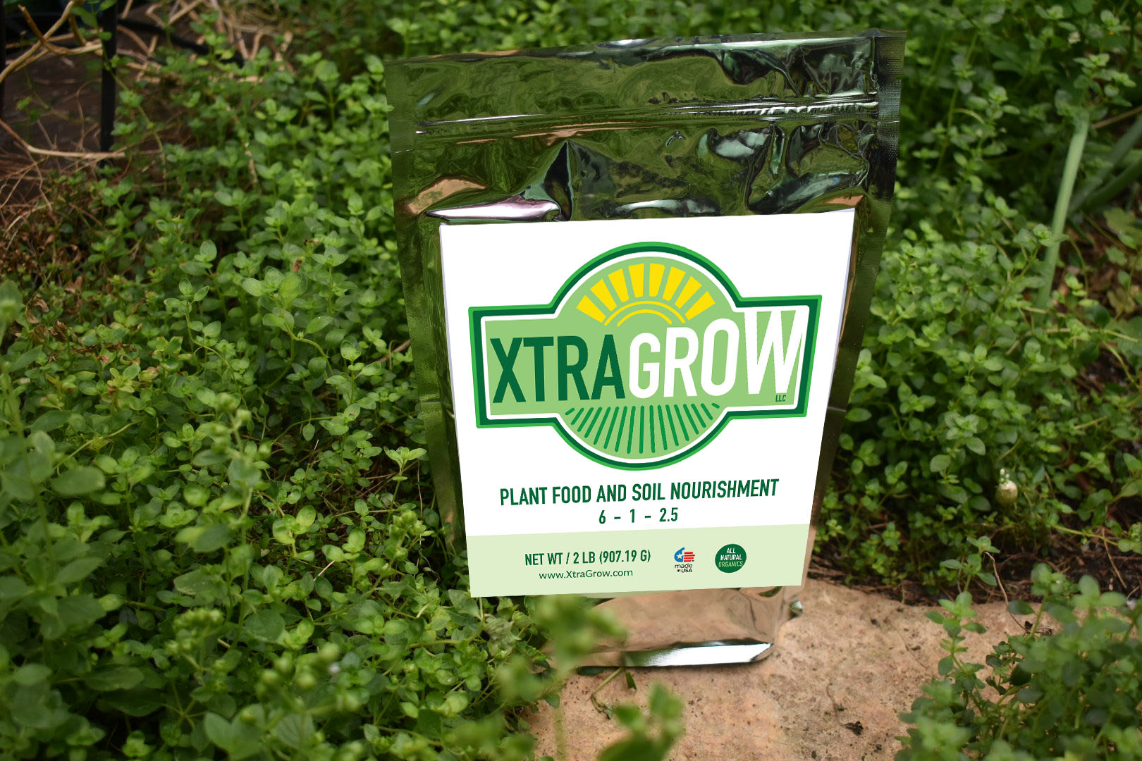 Premium Organic Plant Based Fertilizer Video Xtragrow in plants grown with Xtragrow 3